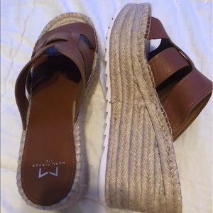Marc Fisher Robyn Espadrille Wedge
